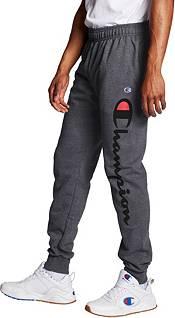 Champion Men's Powerblend Leg Script Jogger Pants product image