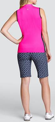 Tail Women's Sleeveless Mini Mock Golf Top product image