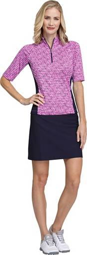 Tail Women's Mock Neck Short Sleeve Golf Polo product image