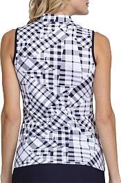 Tail Women's Mock Neck Sleeveless Golf Polo product image