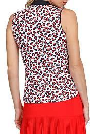 Tail Activewear Women's Sleeveless Pierced Collar Golf Polo product image