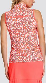 Tail Women's Mesh Inserts ¼ Zip Sleeveless Golf Polo product image