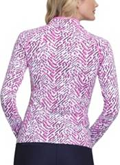 Tail Women's Mini Mock Long Sleeve Golf Pullover product image