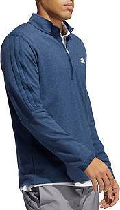 Adidas Men's 3-Stripes Recycled Polyester 1/4 Zip Golf Pullover product image