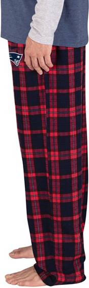 Concepts Sport Men's New England Patriots Parkway Navy Flannel Pants product image