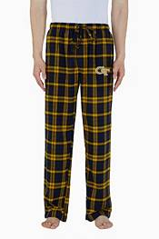 Concepts Sport Men's Georgia Tech Yellow Jackets Parkway Flannel Pajama Pants product image