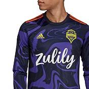 adidas Men's Seattle Sounders '20-'21 Primary Replica Long Sleeve Jersey product image