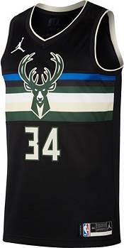 Nike Men's Milwaukee Bucks Giannis Antetokounmpo Black Statement Edition Swingman Jersey product image