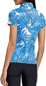 Tail Women's Short Sleeve 1/4 Zip Golf Polo product image