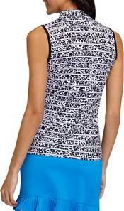 Tail Women's Sleeveless 1/4 Zip Golf Polo product image
