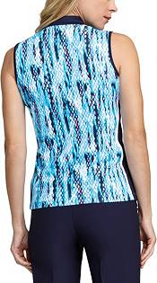 Tail Women's Modified Collar Sleeveless Golf Polo product image