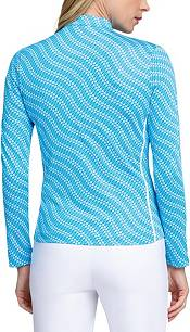 Tail Women's Printed Mock Neck ¼-Zip Golf Pullover product image
