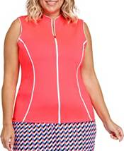 Tail Women's Full Zip Sleeveless Golf Top (Regular and Plus) product image