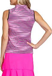 Tail Women's Sleeveless Funnel Neck ¾ Zip Golf Polo product image