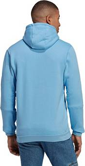 adidas Men's New York City FC Travel Blue Pullover Hoodie product image