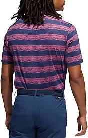adidas Men's Painted Stripe Recycled Polyester AEROREADY Polo product image