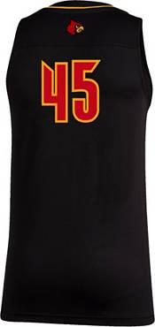 adidas Men's Louisville Cardinals Swingman Black Jersey product image