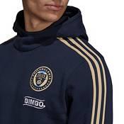 adidas Men's Philadelphia Union Travel Navy Pullover Hoodie product image