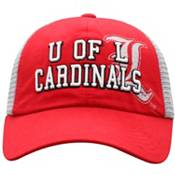 Top of the World Women's Louisville Cardinals Cardinal Red Glitter Cheer Adjustable Hat product image