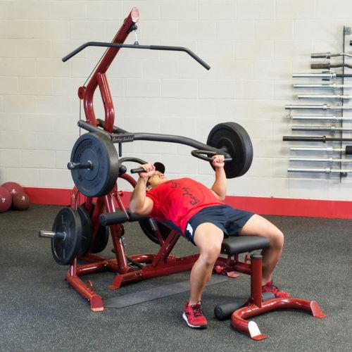 Body solid corner leverage gym package with bench dicks sporting