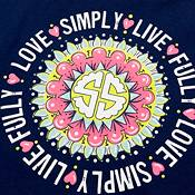 Simply Southern Girls' Mandala Long Sleeve T-Shirt product image
