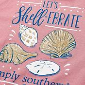 Simply Southern Girls' Shellebrate Long Sleeve T-Shirt product image