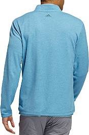 Adidas Men's 3 Stripes 1/4 Zip Golf Pullover product image