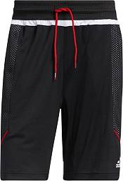 adidas Men's Louisville Cardinals Black Retro Basketball Shorts product image