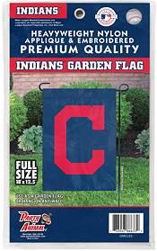 Party Animal Cleveland Indians Logo Premium Garden Flag product image