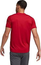 adidas Men's Atlanta United 3-Stripe Red T-Shirt product image