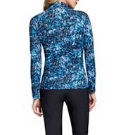 Tail Women's Cityscape ¼-Zip Mock Neck Long Sleeve Golf Top - Extended Sizes product image