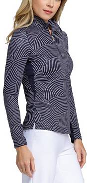 Tail Women's Extended Size Printed ¼-Zip Golf Pullover product image