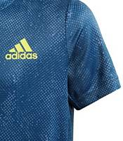 adidas Boys' Oz Short Sleeve Tennis T-Shirt product image