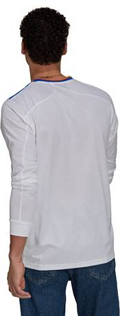 adidas Men's Real Madrid '21 Home Replica Long Sleeve Jersey product image