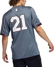 adidas Men's Mississippi State Bulldogs #21 Grey 'Concrete Building' Reverse Retro Replica Football Jersey product image
