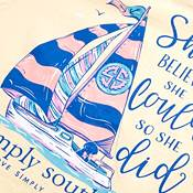 Simply Southern Girls' Boat Short Sleeve T-Shirt product image