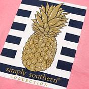 Simply Southern Girls' Pineapple Short Sleeve T-Shirt product image