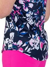 Jofit Women's Sleeveless Print Golf Polo product image