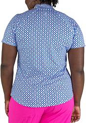 Jofit Women's Raglan Short Sleeves 1/4 Zip Golf Polo product image