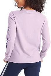 Champion Women's Sleeve Logo Long Sleeve T-Shirt product image