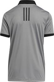 adidas Boys' 3-Stripes Chest Primegreen Golf Polo product image