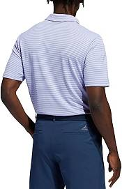 adidas Men's Drive Two-color Stripe Short Sleeve Golf Polo product image