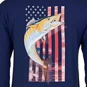 Guy Harvey Men's American Wahoo Long Sleeve Shirt product image