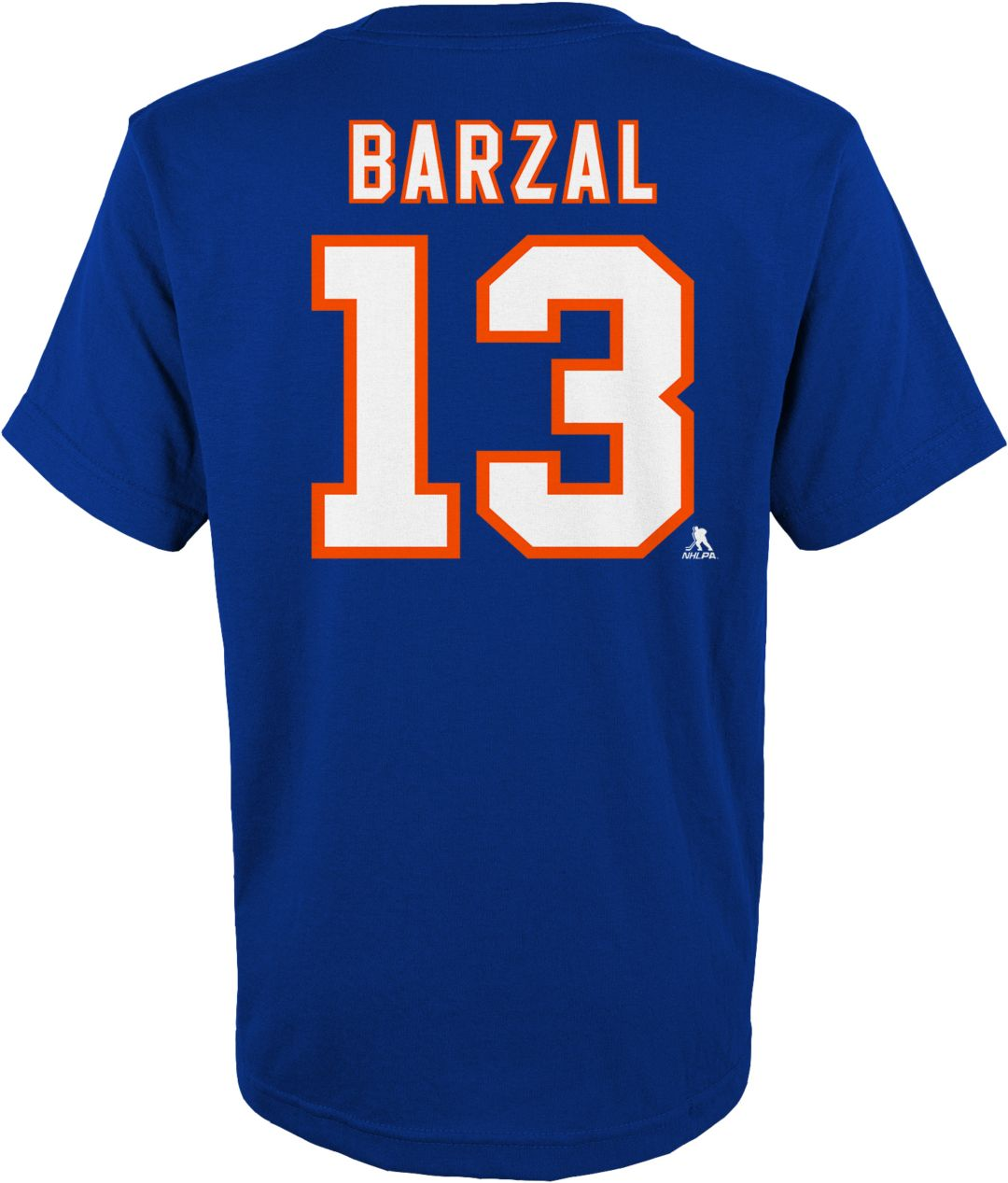 huge selection of f595c cbc4d NHL Youth New York Islanders Matthew Barzal #13 Royal Player T-Shirt