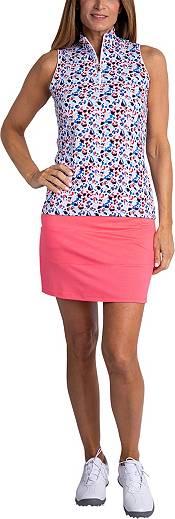 Sport Haley Women's Heidi Print Sleeveless Golf Polo product image