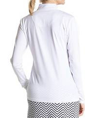 Sport Haley Women's Skye Mock Long Sleeve 1/4 Zip Golf Polo product image