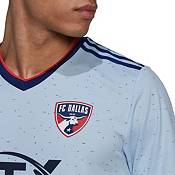 adidas Men's FC Dallas '21-'22 Authentic Authentic Secondary Jersey product image