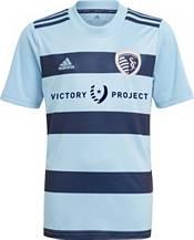 adidas Youth Sporting Kansas City '21-'22 Primary Replica Jersey product image