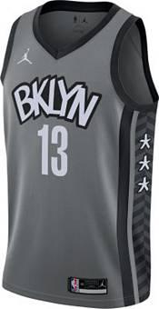 Nike Men's Brooklyn Nets James Harden #13 Gray Dri-FIT Statement Jersey product image