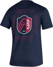 adidas Men's St. Louis SC Kickoff Creator Navy Performance T-Shirt product image